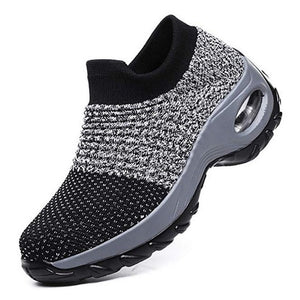 Fashion Breathable Mesh Casual Platform Sneakers For Women