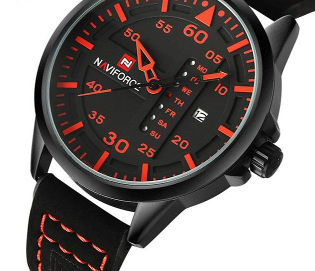 Date, Clock Sport Watch - fazbima