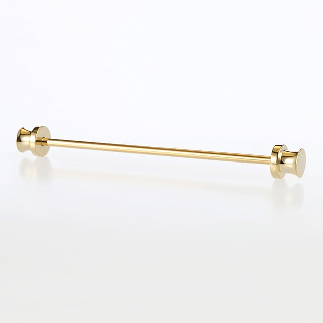 Hot 9 Stainless Steel Gold Collar Pin - fazbima
