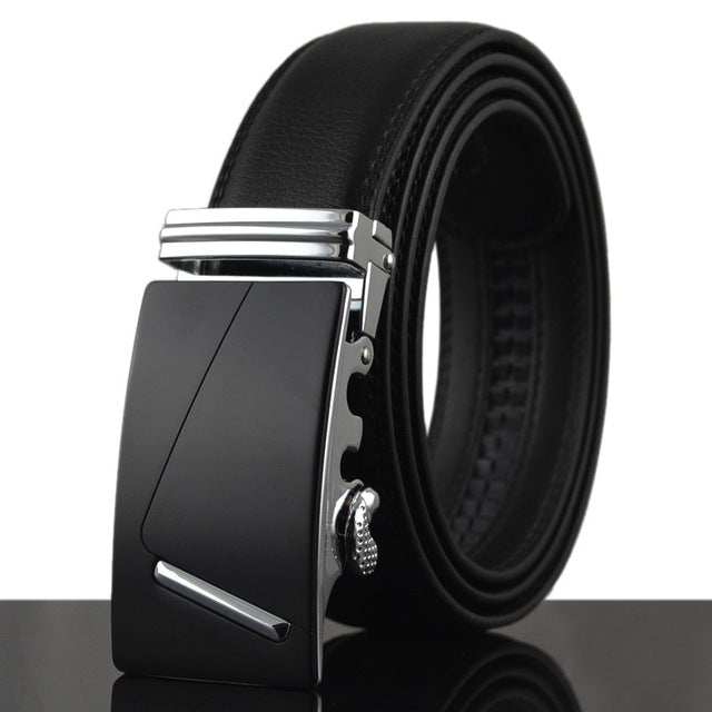 Smooth Automatic Buckle Belt - fazbima