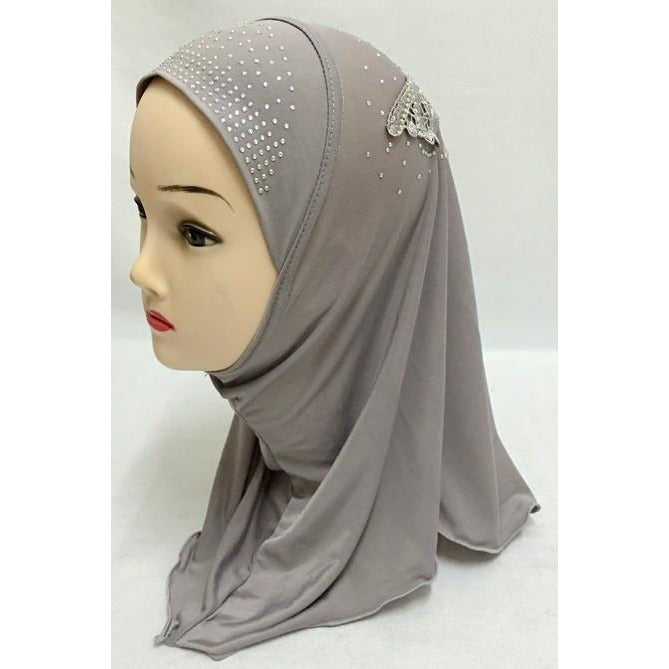New Style Small Girls Muslim Hijab (Wholesale Only) - Fozbima Accessories