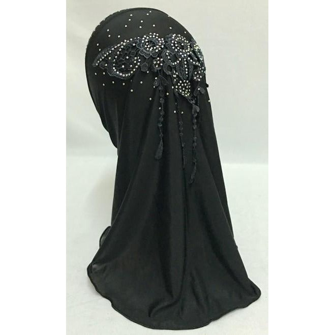 New Style Small Girls Muslim Hijab (Wholesale Only) - fazbima