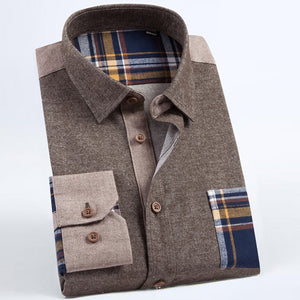 Shirt Corduroy Striped Long Sleeve - fazbima
