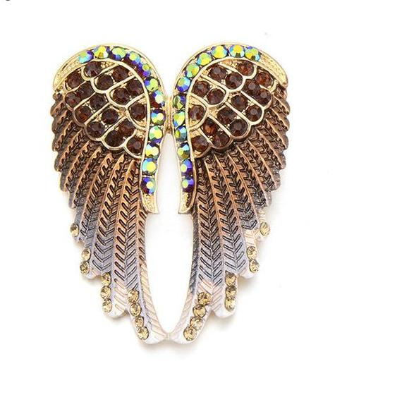 Brooches  Vintage Angel Wings Pin - Fozbima Accessories