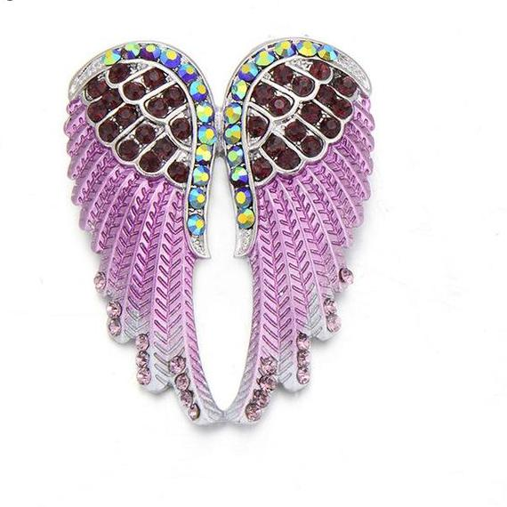 Brooches  Vintage Angel Wings Pin - fazbima