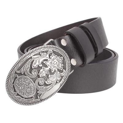 Retro Palace Pattern Jean Belt - fazbima