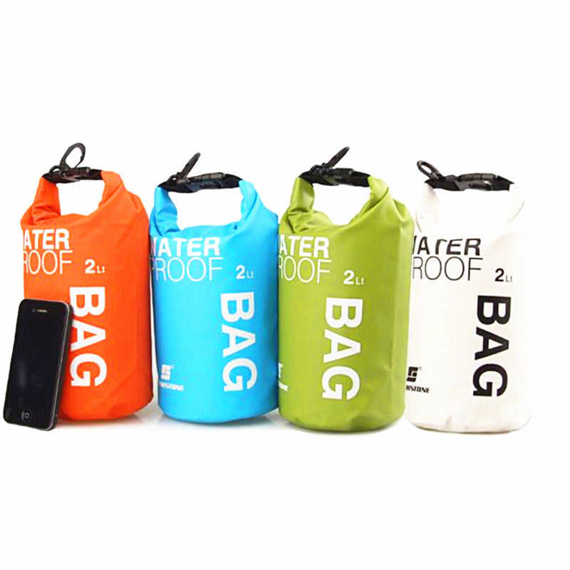 Portable Waterproof 2L Water Bag Storage Lunch Bag