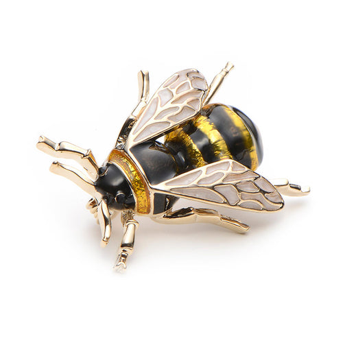 Brooches Enamel Bumble Bee Pin