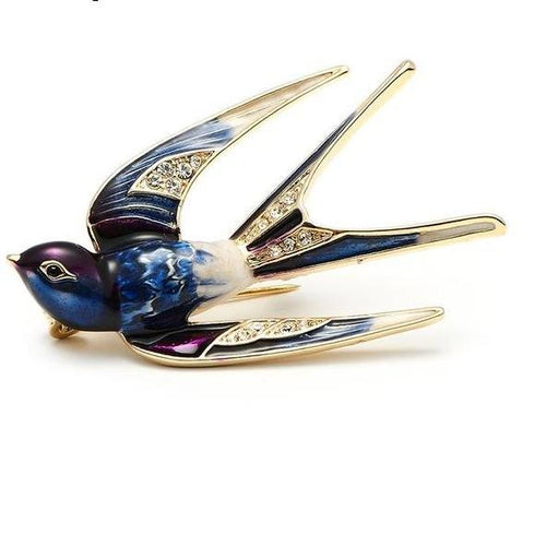 Brooches Swallow Pin