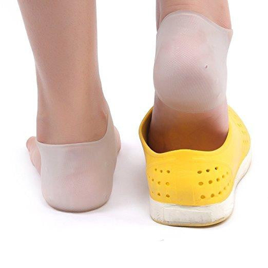 Silicone Gel Heel and Ankle Sleeve - fazbima