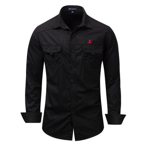 Marshall Classic Basic Denim Shirt - fazbima