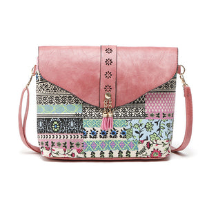 Sweet Ladies Small Printing Shoulder Bag/Clutch - fazbima