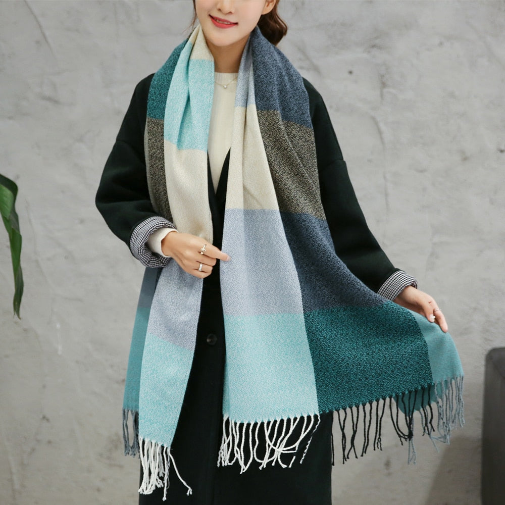 Autumn Winter Wool Scarf - fazbima