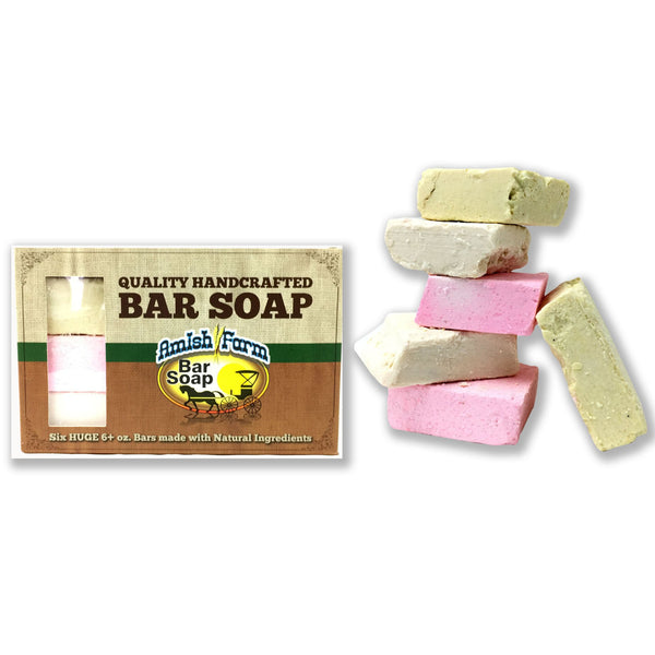 All Natural Amish Farms Large Soap - 6 Pack - 576 pc Lot