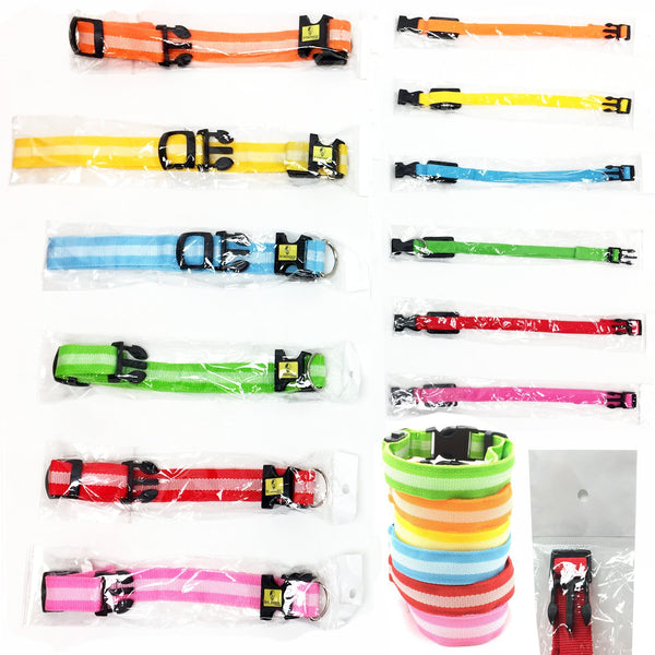 LED Dog Collars - 295 pc Lot
