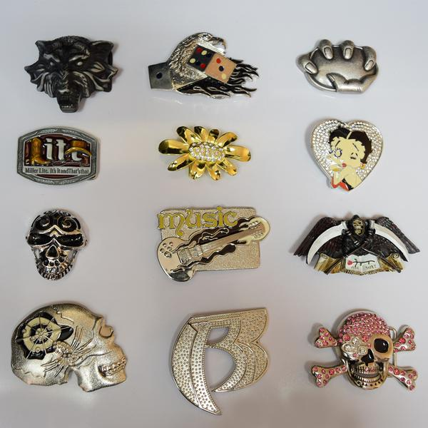 Vintage Belt Buckles - Assorted - 100 pc Lot
