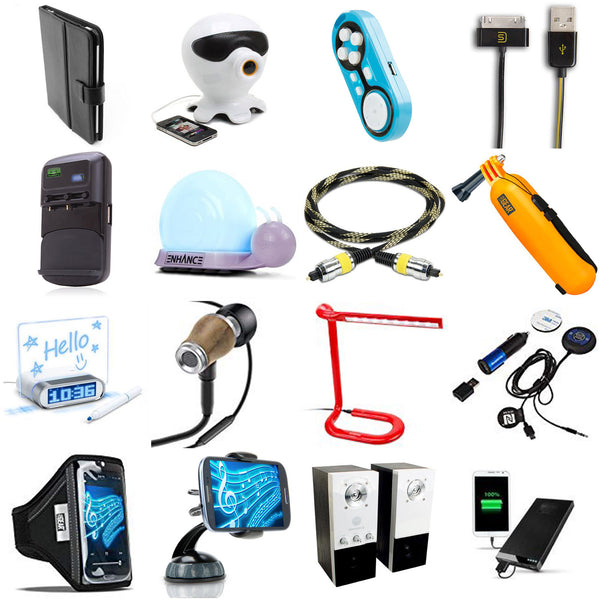 Electronic Accessories - 4255 pc Lot