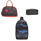 Coach Satchel, Backpack, & Travel Kit Bags - 3 pc Lot