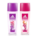 Adidas Fruity Rhythm & Natural Vitality 2.5 oz Body Fragrance - 60 pc Lot