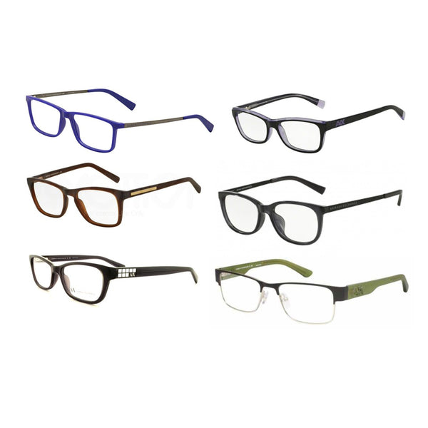 Assorted Armani Exchange Optical Frames - 6 Pc Lot