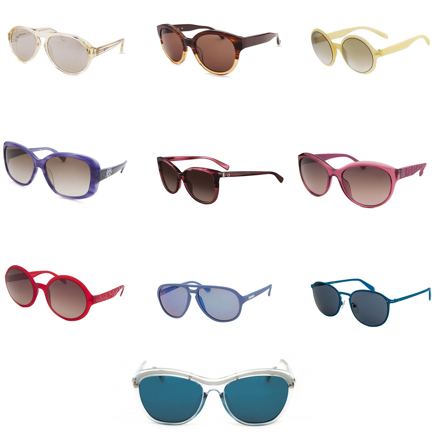 CK Sunglasses - Assorted Styles - 10 pc Lot