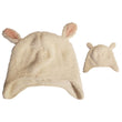 Toddler 2T-5T White Lamb Faux Fur Winter Hat - 70 pc Lot