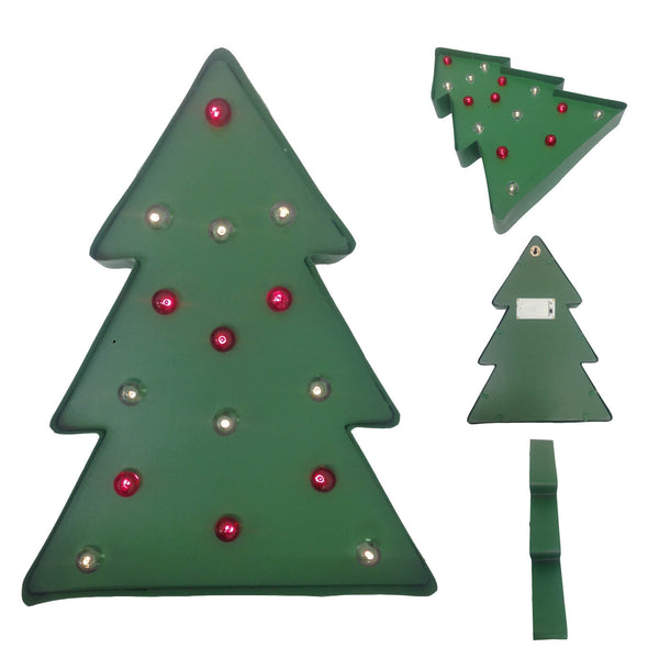 Holiday Lit Tree Metal Marquee LED Light - 450 pc Lot