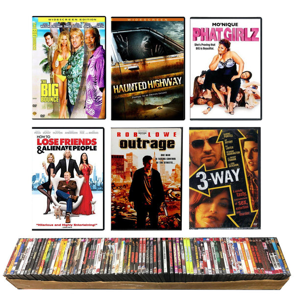 DVD Movie Collection -  3200 pc Lot