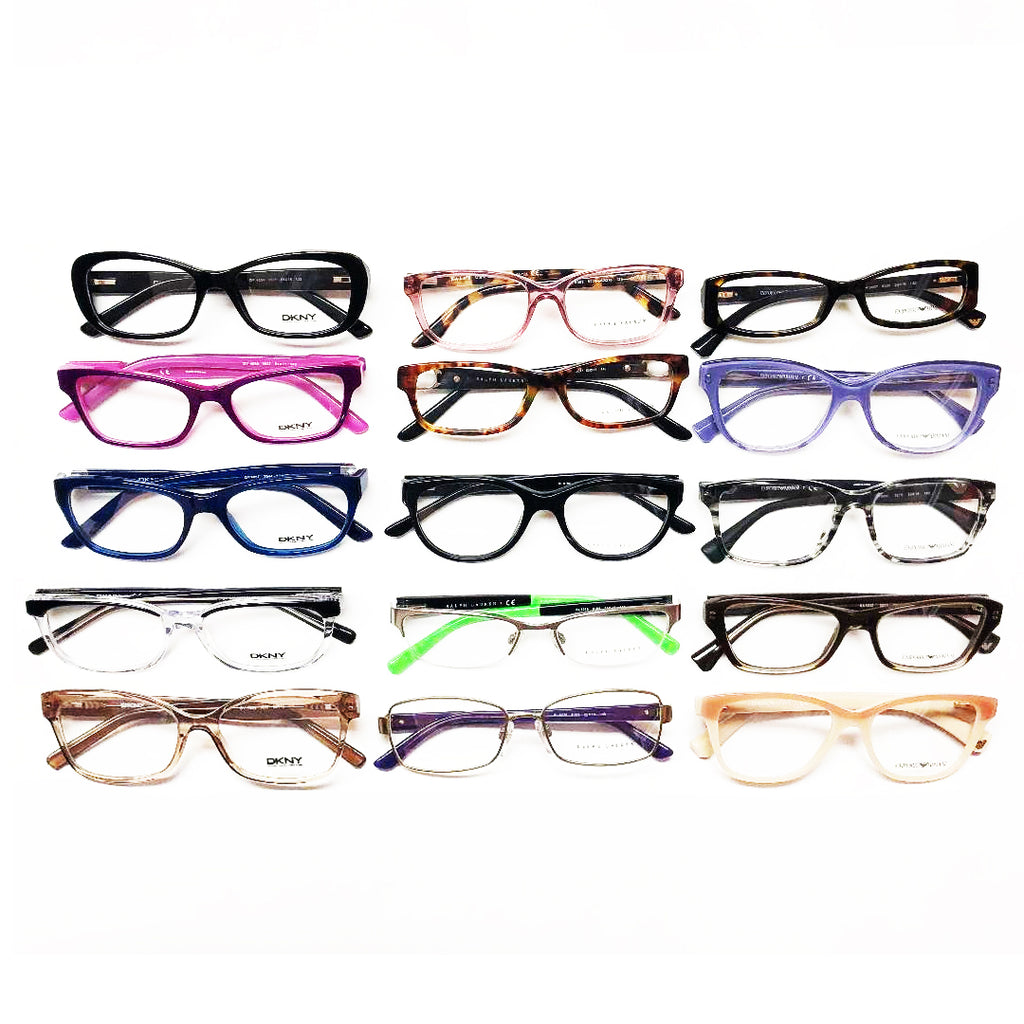 5bb96cdb9 Designer Brands Eye-Wear / Optical Frames #9 - 15 Pc Lot – Topper  Liquidators