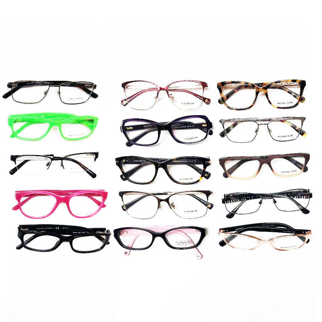 355f6ab6d Designer Brands Eye-Wear / Optical Frames #8 - 15 Pc Lot – Topper  Liquidators