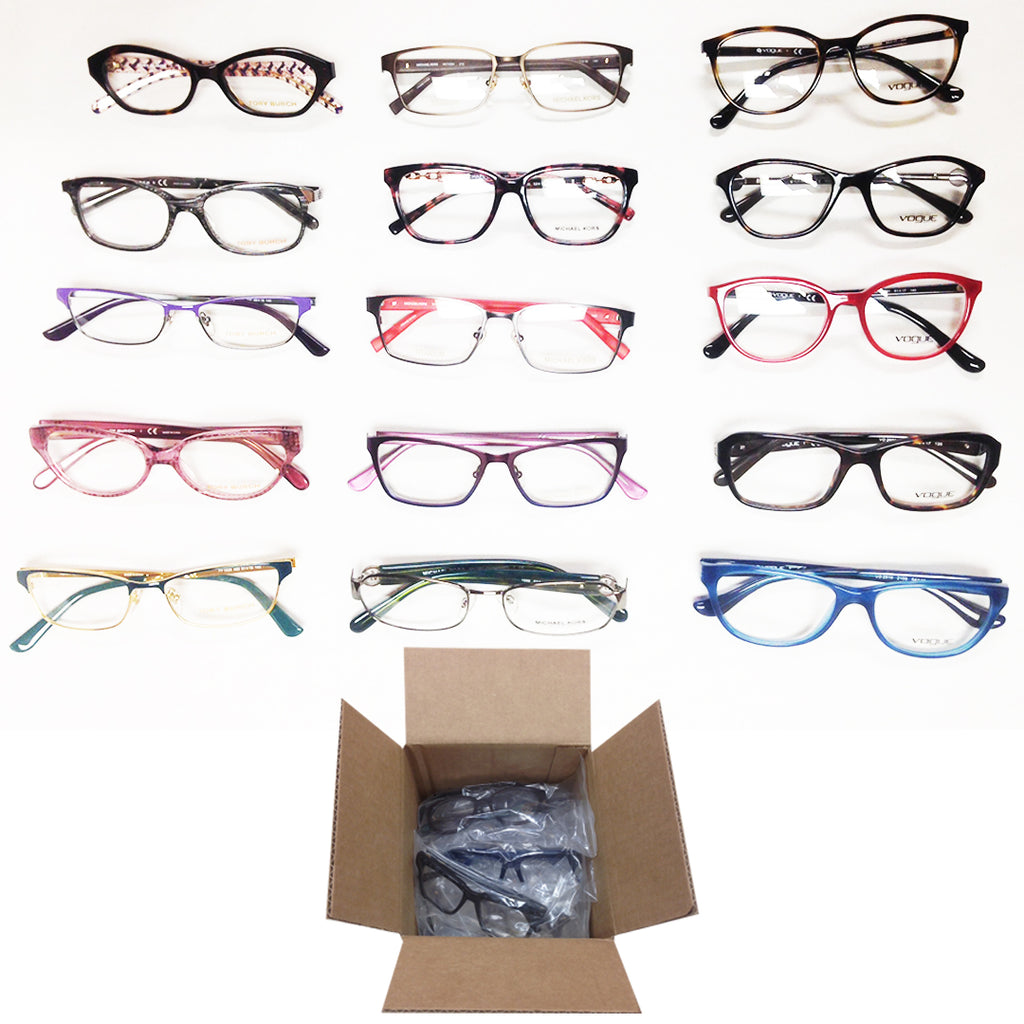 6bfa3669c Designer Brands Eye-wear / Optical Frames #6 - 15 pc Lot – Topper  Liquidators