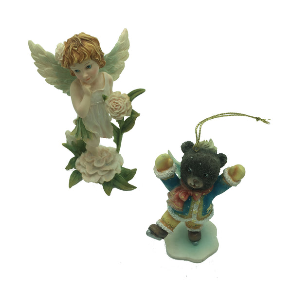 RNR Gifts Angel Bear Ornaments & January Fairies - 95 Pc Lot