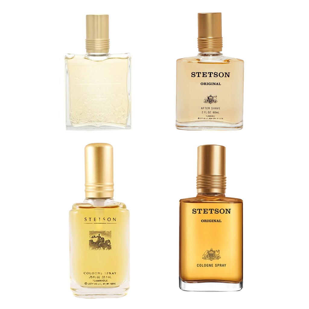 Stetson By Coty Colognes and After Shaves - 60 pc Lot