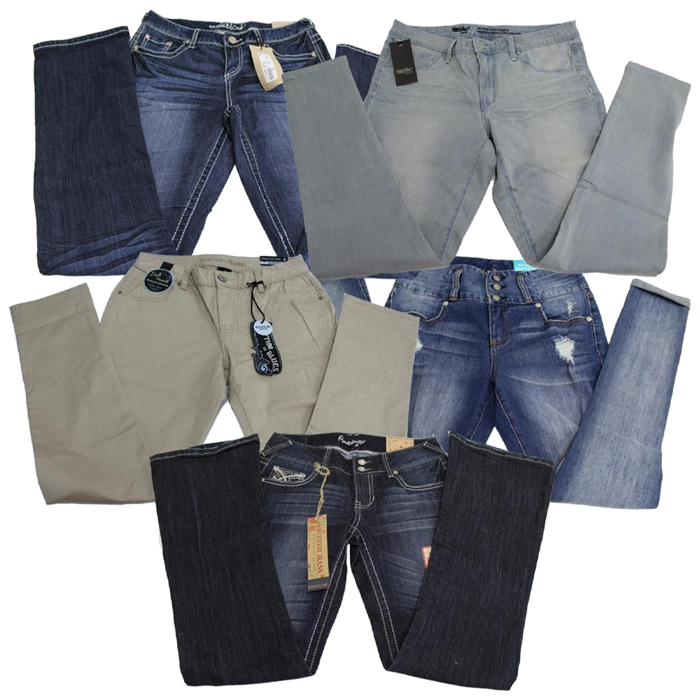 Multiple Brands Women's JEANS - 100 pc Lot