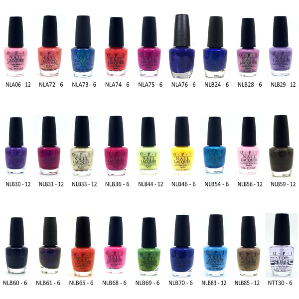 OPI Nail Polish Collection DL112 - 222 pc Lot