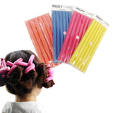"Ricky Care 9 1/2"" Foam Twist Flex Rods Hair Curlers - 743 pc Lot"