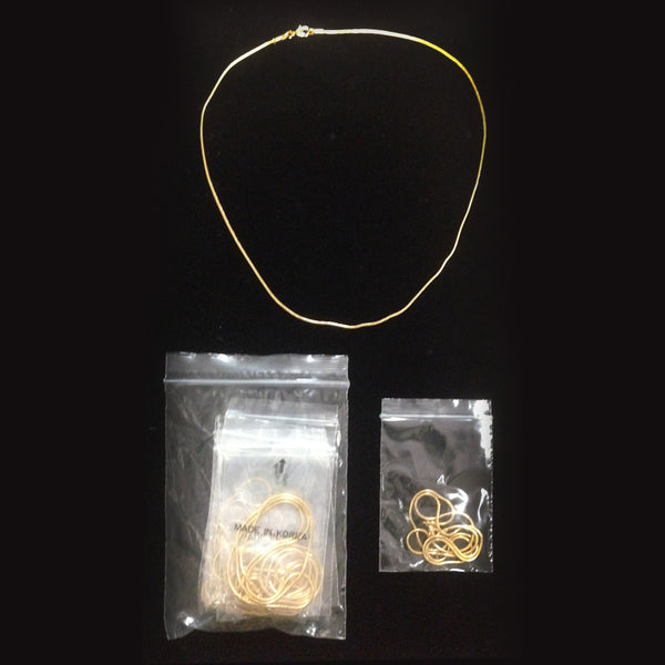 "24"" Snake Gold Layered Chains - 425 pc Lot"