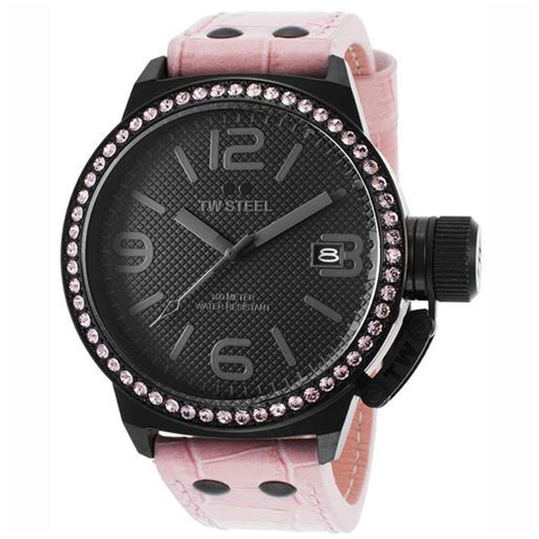 TW STEEL TW911 CANTEEN LADIES WATCH 45 MM PINK STRAP (LOT OF 10)