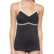 Tankini Racerback Black Top - 77 pc Lot