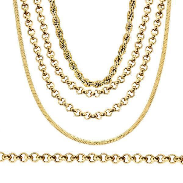 Gold Plated Necklaces - 1000 pc Lot