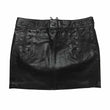 RL Black Leather Mini Skirt - 8 pc Lot