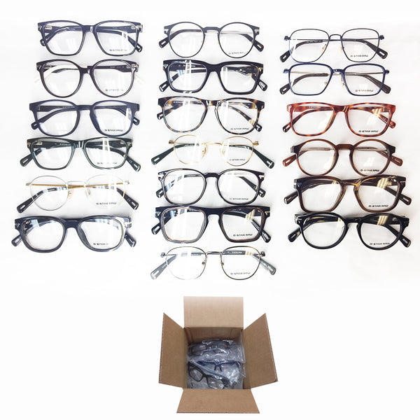 Assorted G-Star RAW Optical Frames #2 - 20 Pc Lot-G-Star-Topper Liquidators