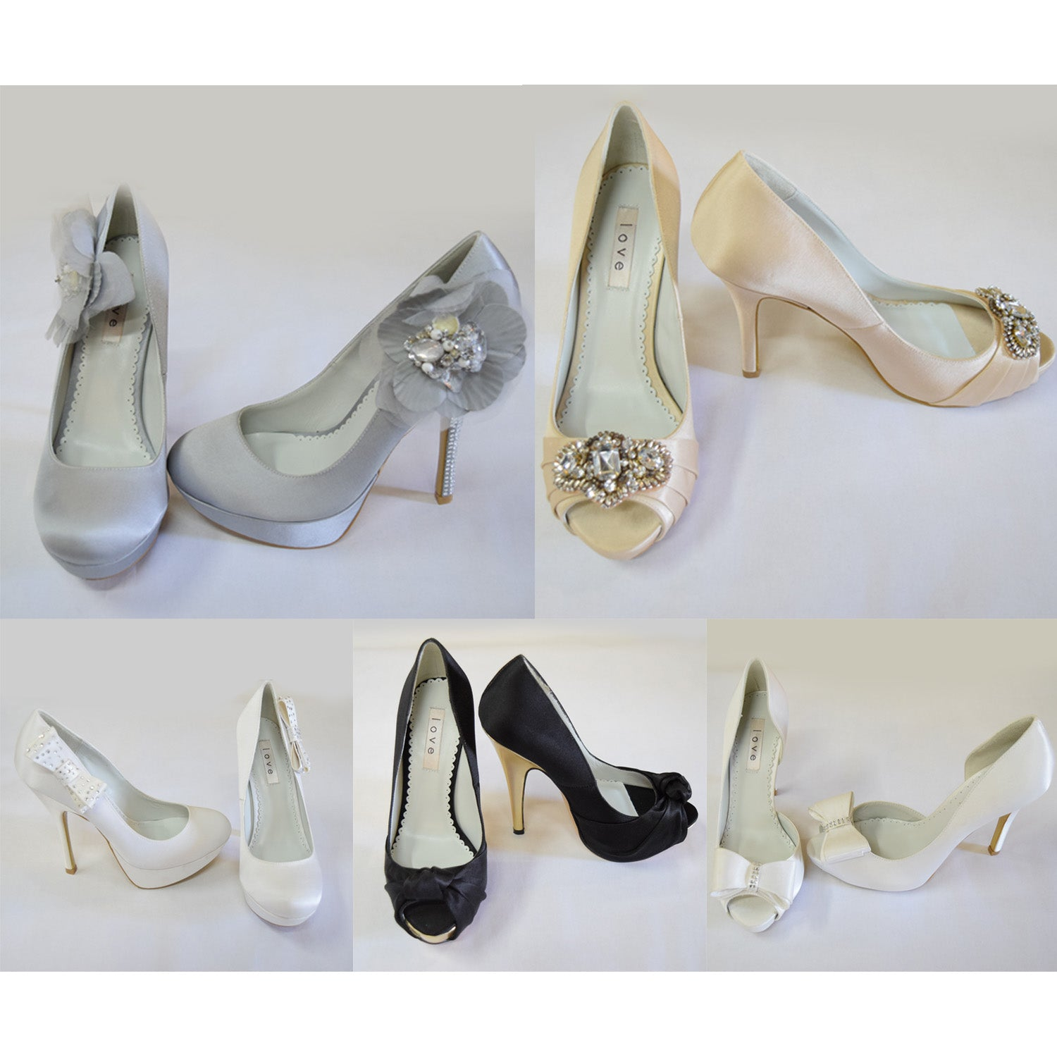 Enzoani Bridal/Party High Heels - 55 pc Lot