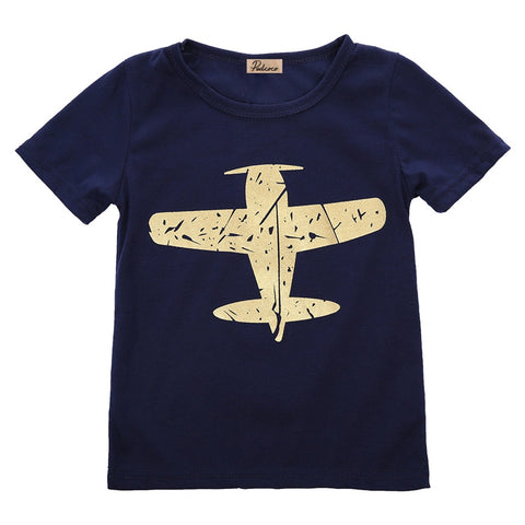"""Conor"" Airplane Tee"