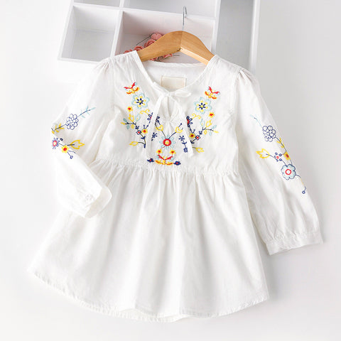 Embroidered Tunic/Dress 24M-6Y