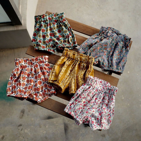 Summer Floral Bloomers