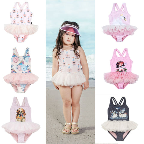 Tutu girls Swim One piece