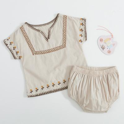 2 Pc Molly Embroidered set