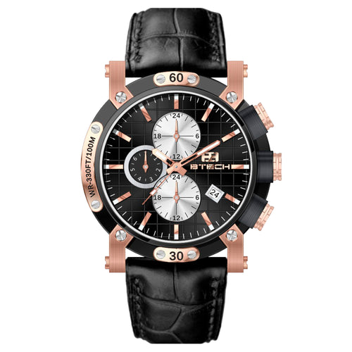 Atelier Black Rose Gold Men Watch (BT-AT-632-52)