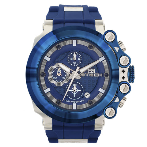 Cite Chrono Blue Unisex Watch (BT-CC-334-04)